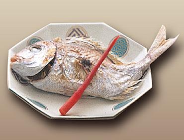 鯛の塩ふり焼き(浜料理)